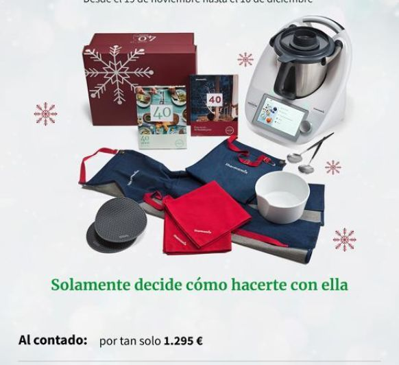 Navidades Thermomix® AL 0%