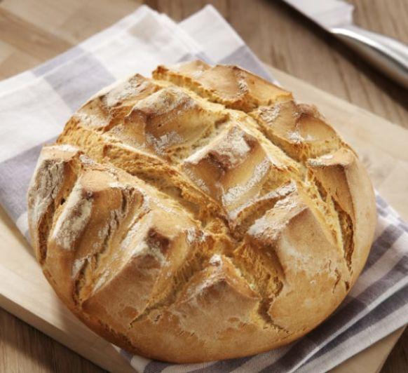 Pan rápido, pan con masa madre y pan integral con muesli