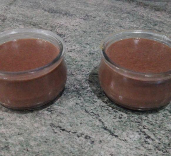 Natillas de chocolate.... mmmm