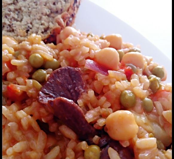 ARROZ CREMOSO VEGETARIANO TM6