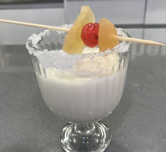Cóctel roscón de Reyes