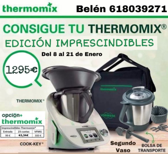 Thermomix® Edición Imprescindibles: bolsa + segundo vaso