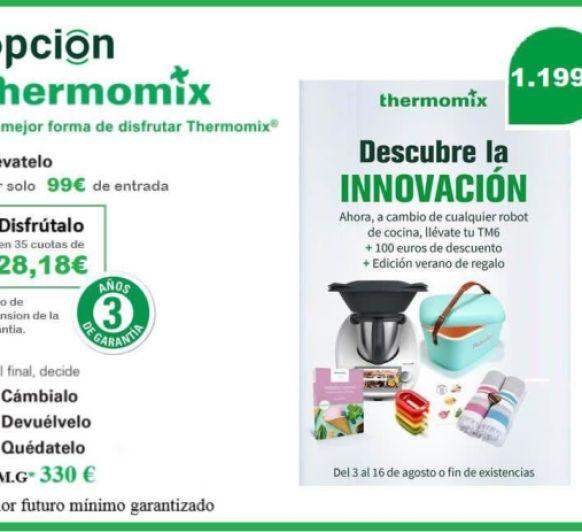 Plan Renove sin Thermomix®
