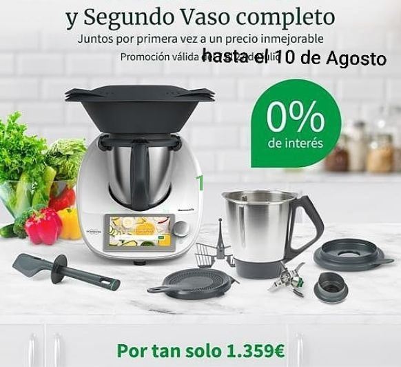 Thermomix® SIN INTERESES HASTA EL DIA 10 DE AGOSTO