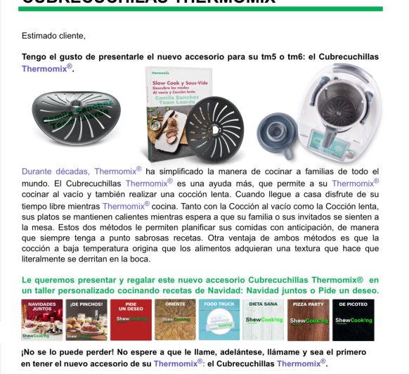 LANZAMIENTO Thermomix®