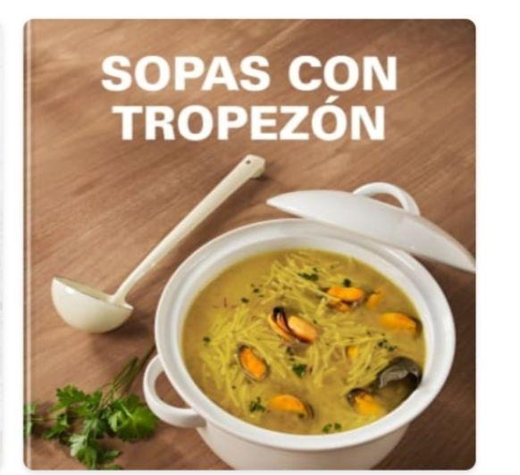UNA SOPA POR FAVOR CON CESTILLO O CUBRECUCHILLAS