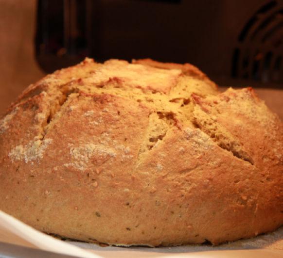 Pan al pesto