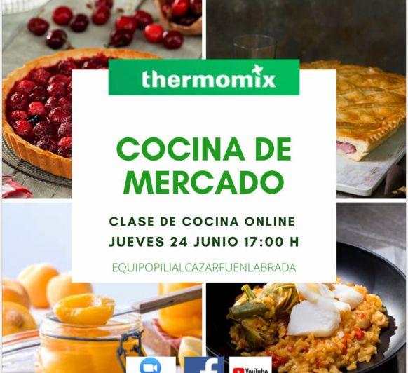 CLASE DE COCINA ONLINE Thermomix® TM6