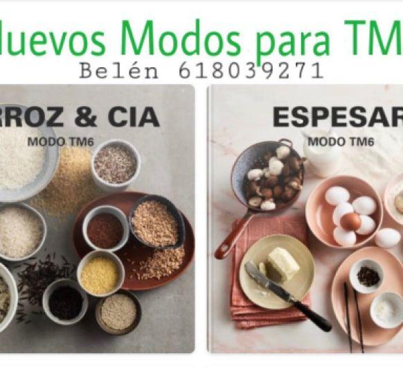 <p><span style=''color: #0000ff;''><em>Nuevos Modos de Cocinado para el Thermomix® TM6 Modo Cocción de Arroz y Modo Espesar</em></span></p>