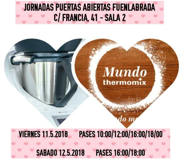 JORNADAS GASTRONOMICAS MUNDO Thermomix® EN FUENLABRADA