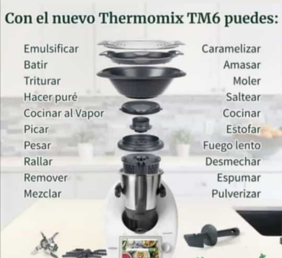 Comprar Thermomix® tm6