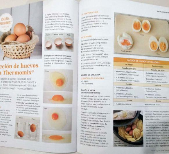 Coccion de huevos