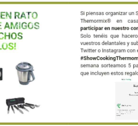 PASA UN BUEN RATO ENTRE AMIGOS ¡Te ayudo a organizar un Show cooking!