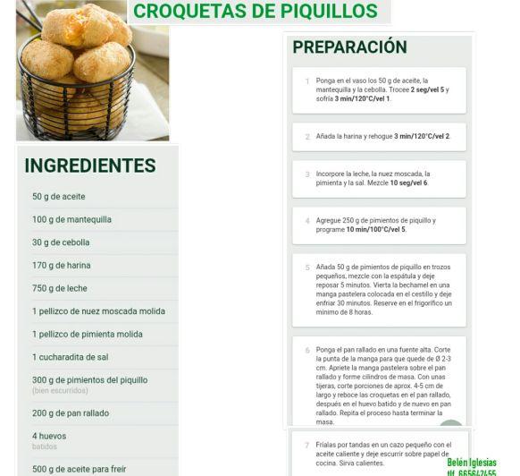 CROQUETAS DE PIQUILLOS