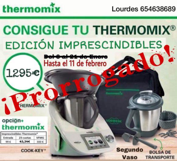 CONSIGUE TUS IMPRESCINDIBLES Thermomix®