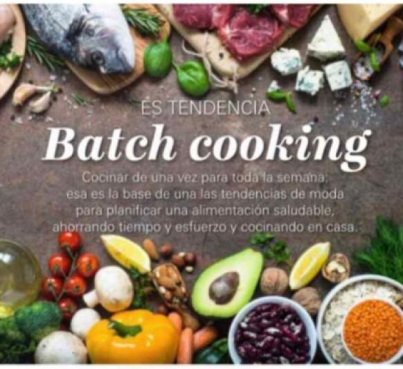 Batch cooking es tendencia