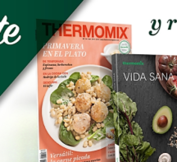 Revista Thermomix® + 1 libro de regalo